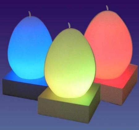 gadget lumineux - bougies à changement de couleur