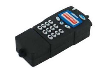 Cadeau entreprise personnalisé : clef USB en forme de téléphone