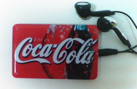 Lecteur MP3 format carte de crédit avec écouteurs