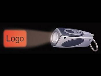 gadget lumineux : petite lampe avec projection d'un message
