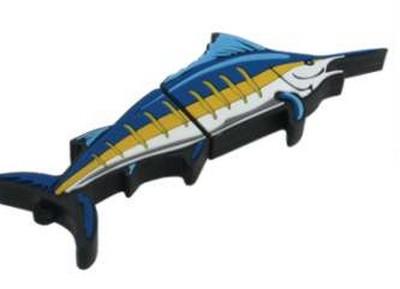 Cadeau entreprise personnalisé : clef USB en forme d'espadon