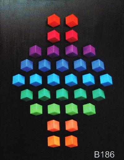 cadeau d'entreprise - peinture jeux de couleurs
